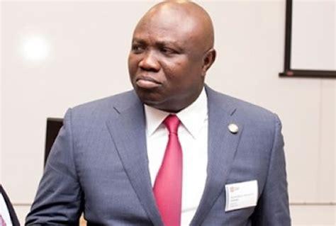 BREAKING: Ambode sacks finance, transport, tourism ...