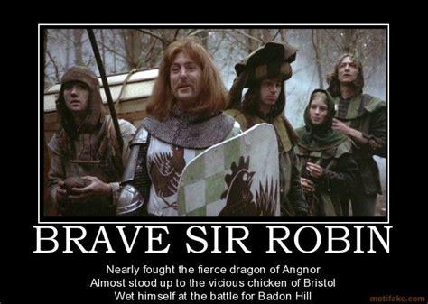 Brave Sir Robin ran away... | Monty Python | Pinterest