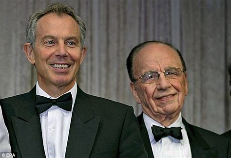 Blair 'was about to tell Murdoch of Wendi meetings - then ...