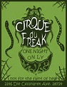 Cirque Du Freak Manga | Cirque Du Freak Flyer by *Golden-Deviant on deviantART | Cirque Du Freak ...