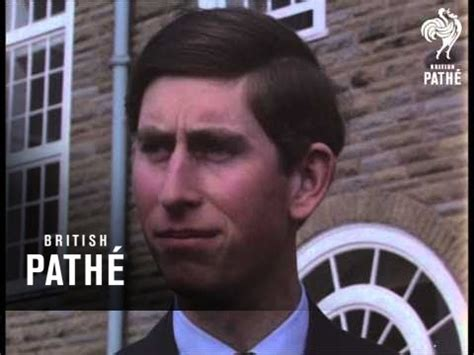Prince Charles At Aberystwyth (1969) - YouTube