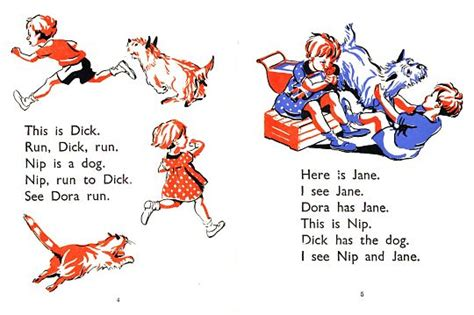 Getting a word in: The reading bug with Dick and Dora