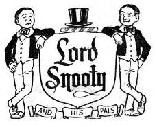 Graphics portfolio: Lord Snooty