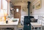 Un abri de jardin en forme de roulotte pour David Cameron