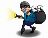 Burglar Illustration