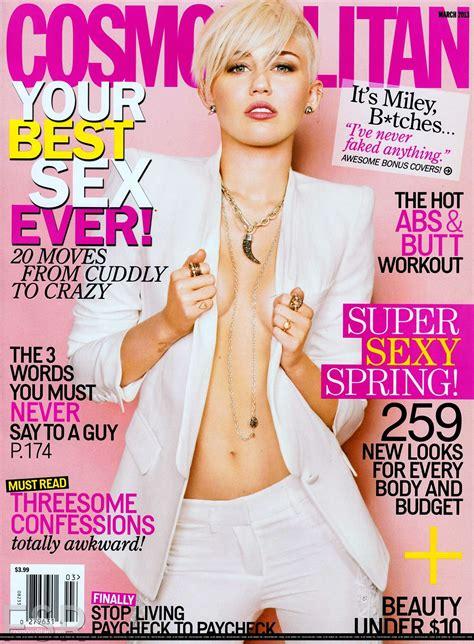 Miley Cyrus - Cosmopolitan magazine 2013-08 - GotCeleb