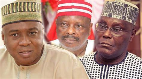 Saraki, Atiku, others disagree over PDP presidential ...