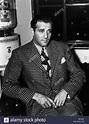 BENJAMIN BUGSY SIEGEL GANGSTER (1940 Stock Photo, Royalty ...