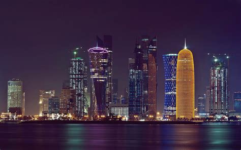 World Visits: Doha Tower - Ancient Islamic Design Architecture