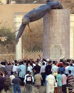 SAS Saddam statue: Iraq demands back chunk taken home as ...