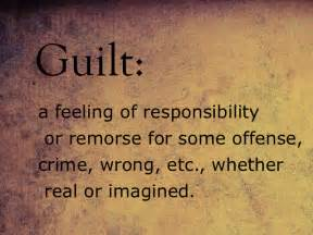 Guilt and Depression – It's Not (All) Your Fault