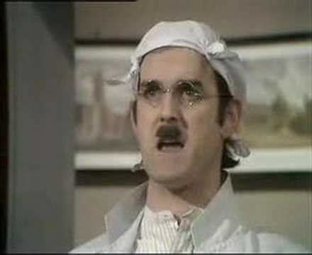 Monty Python - Gumby Problem Sketch - YouTube