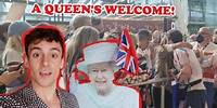 A QUEEN'S WELCOME! I Tom Daley