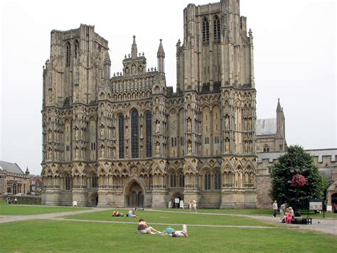 Wells Cathedral and City