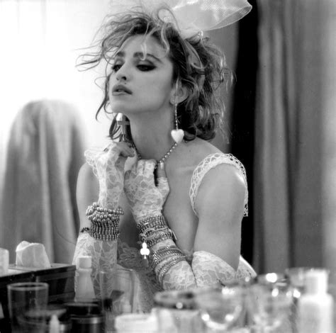 1984- Madonna by Steven Meisel for Like a Virgin Cover ...