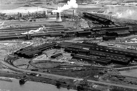 BBC - In pictures: Shotton Steelworks through the years