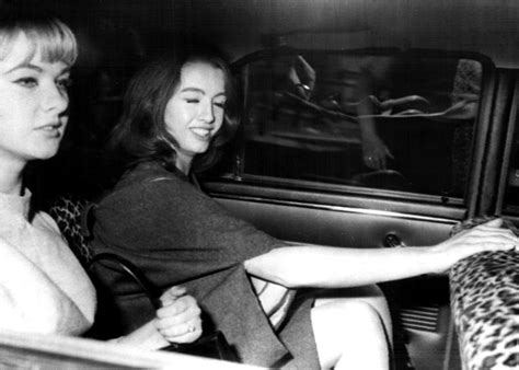 Mandy Rice Davies And Christine Keeler by Everett