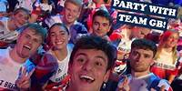 PARTY WITH TEAM GB! I Tom Daley