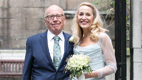 Rupert Murdoch and Jerry Hall marry in London - CNN.com