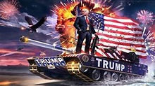 Donald Trump's Tank of FREEDOM - YouTube