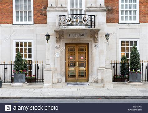 THE LONDON CLINIC, DEVONSHIRE PLACE, LONDON Stock Photo ...