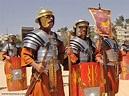 Roman Army Reenactment and Formations at Jerash, Jordan