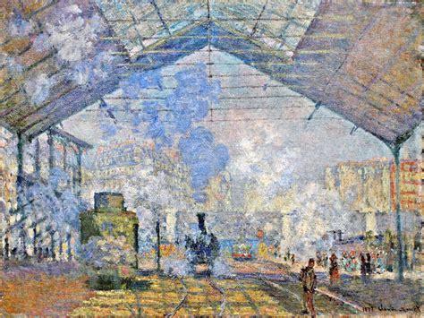 Saint-Lazare Station, Exterior View, 1877 - Claude Monet ...