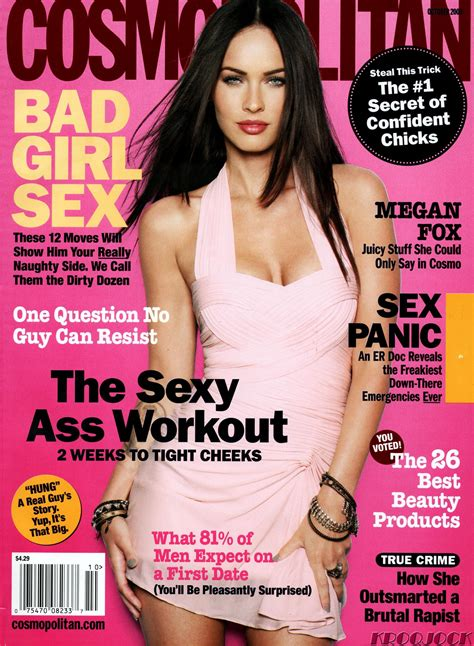 Megan Fox Cosmopolitan Scans - Megan Fox Photo (7922264 ...