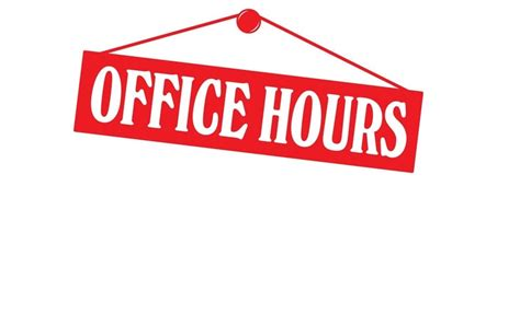 Office Hours - 7 Rivers Alliance
