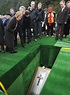 Jimmy Savile funeral: Laid to rest in his golden coffin at ...