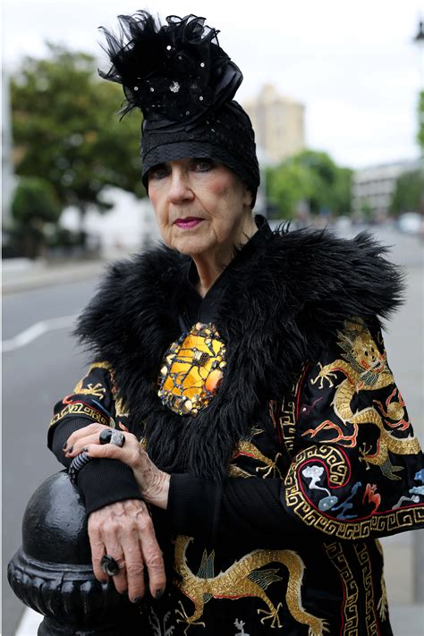 Molly Parkin, King's Road - Advanced Style