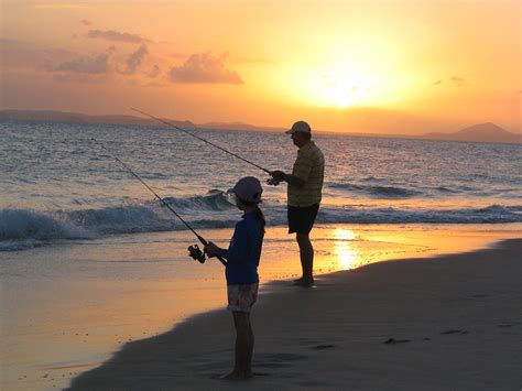 Free photo: Fishing, Father, Daughter, Sunset - Free Image ...