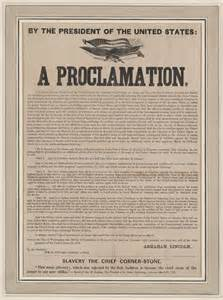 Abraham Lincoln Emancipation Proclamation Images ...