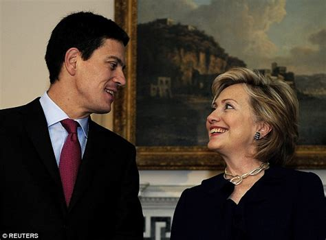 Is David Miliband trying to get a job in Hillary Clinton's ...