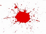Red paint splatter | PSDGraphics