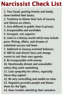 Narcissistic Personality Disorder Traits A narcissist will have some,