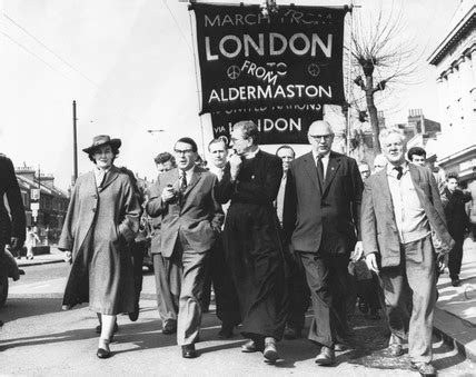Aldermaston-London march, April 1962. at Science and ...