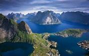 Reine Panorama : Lofoten Islands, Norway : Mountain Photography by ...
