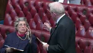 Baroness Trumpington, THAT two-finger gesture and how she ...