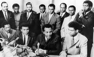 Nation's top Negro athletes gather to hear Muhammad Ali (formerly ...