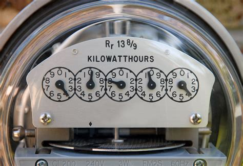 Learn to read your electric meter
