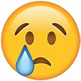 Download Crying Face Emoji Icon | Emoji Island
