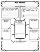 All About Me Web Graphic Organizer Posters | SC-0545015375