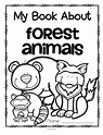 Forest animals theme activities and printables for ...