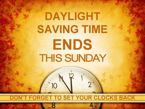Daylight Savings Time ends on Sunday | Mitchell County ...