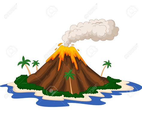 Best Volcano Clipart #5075 - Clipartion.com