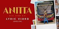 Anitta - Girl From Rio (Lyric Video)