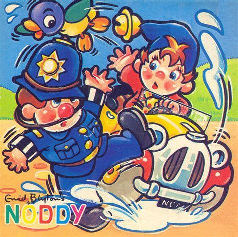 Noddy Splashes Mr Plod by Enid Blyton