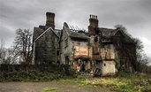 The Tumbledown House | A badly damaged former manor house ...