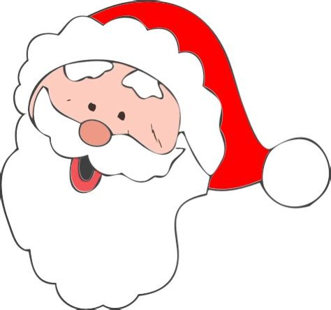 Clip Art Father Christmas - Cliparts.co